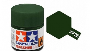 XF-26  Deep Green Acrylic Paint Mini XF26 - Tamiya