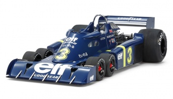 Tyrrell P34 1976 GP Japan + Photo-Etched Parts - Tamiya