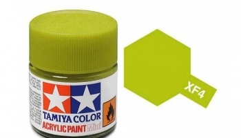XF-4  Yellow Green Acrylic Paint Mini XF4 - Tamiya