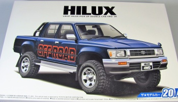 Toyota Hilux Double Cab 4WD   Aoshima