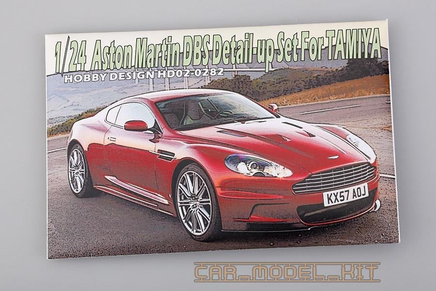 Aston Martin DBS Detail-up Set For Tamiya - Hobby Design | Car-model