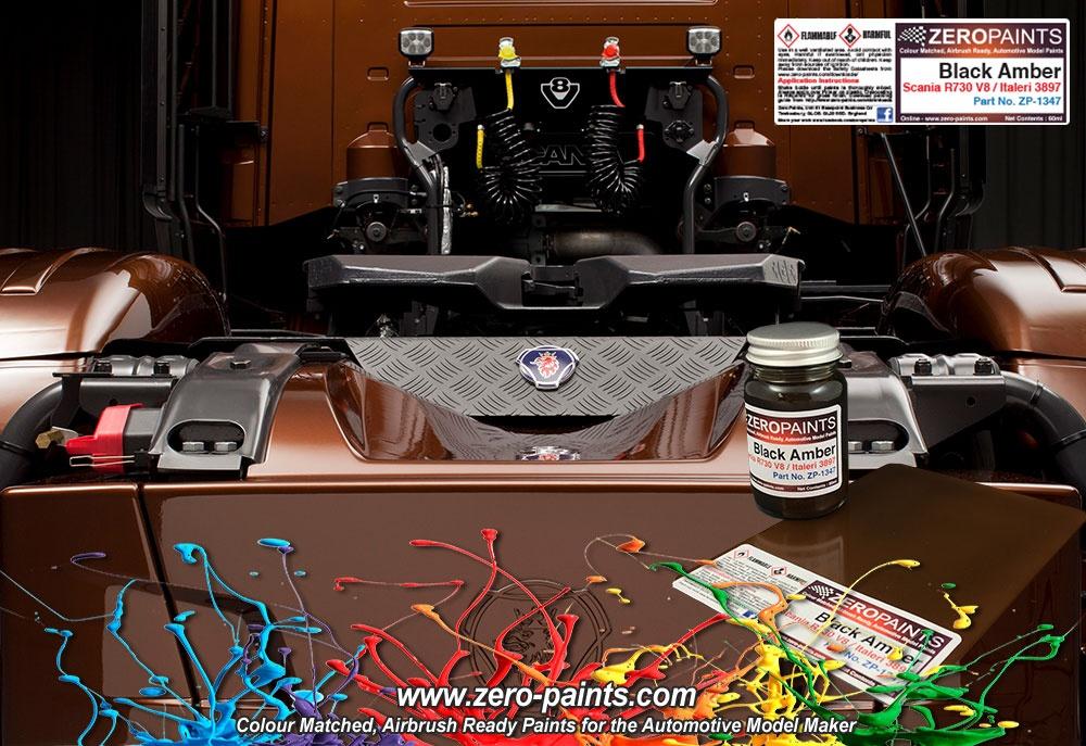 Quot Black Amber Quot Scania R730 V8 Italeri 3897 Paint 60ml