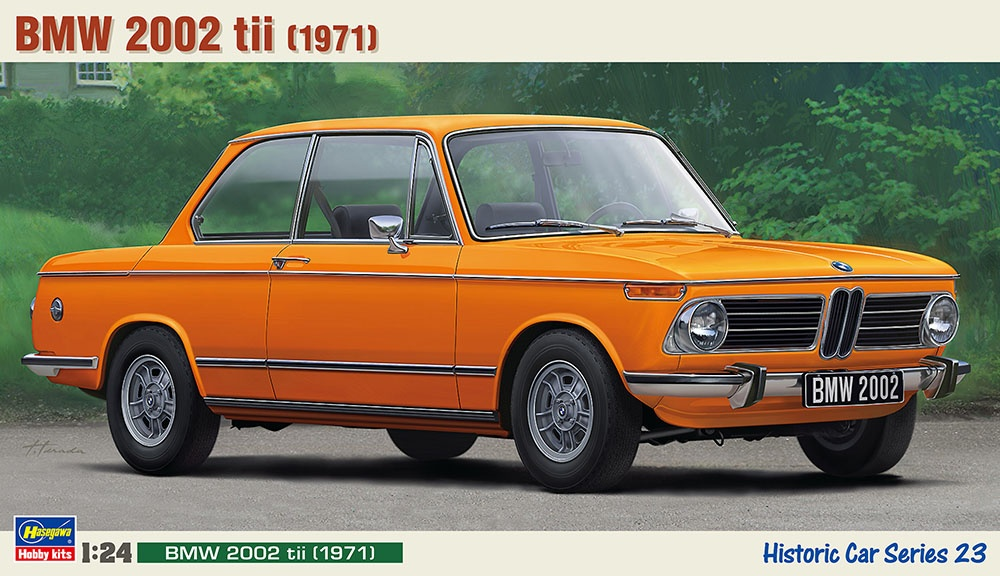 Bmw 2002 Tii Hasegawa Car Model Kit Com