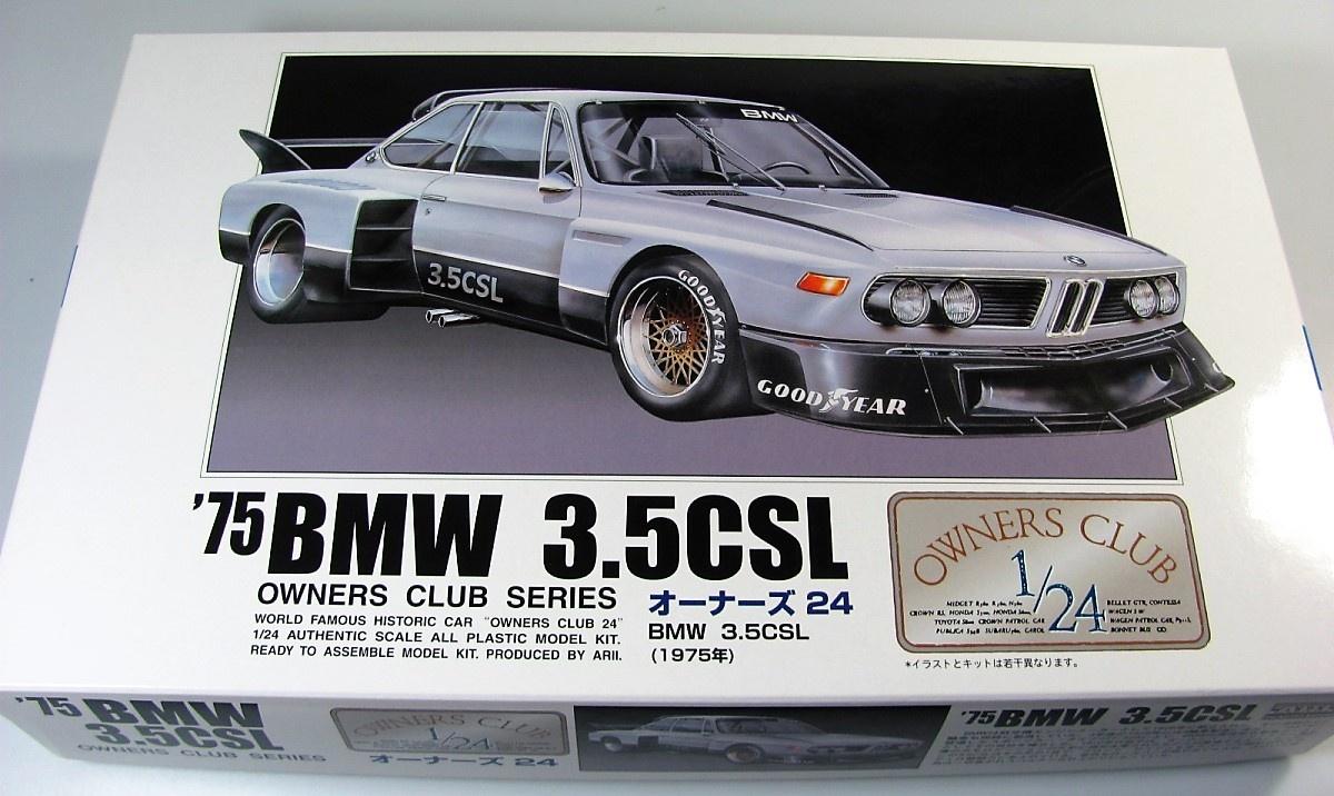 Bmw 3 5 Csl Arii Car Model Kit Com