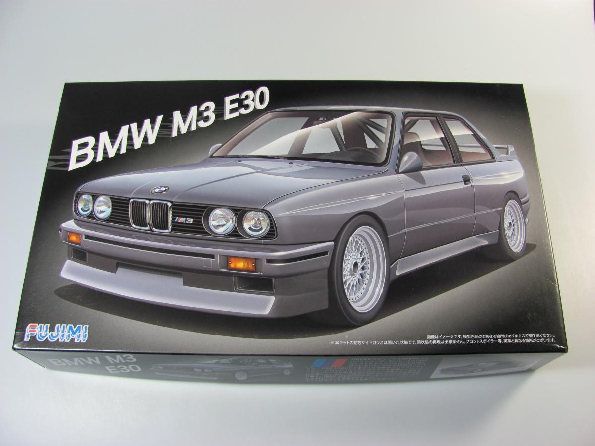 bmw m3 e30 - fujimi | car-model-kit
