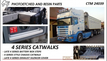 Scania 4 Series Catwalks - Czech Truck Model