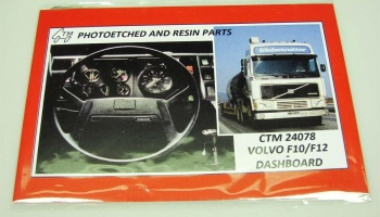 Volvo F10/F12-dashboard - Czech Truck Model