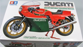 Ducati 900 Mike Hailwood - Tamiya