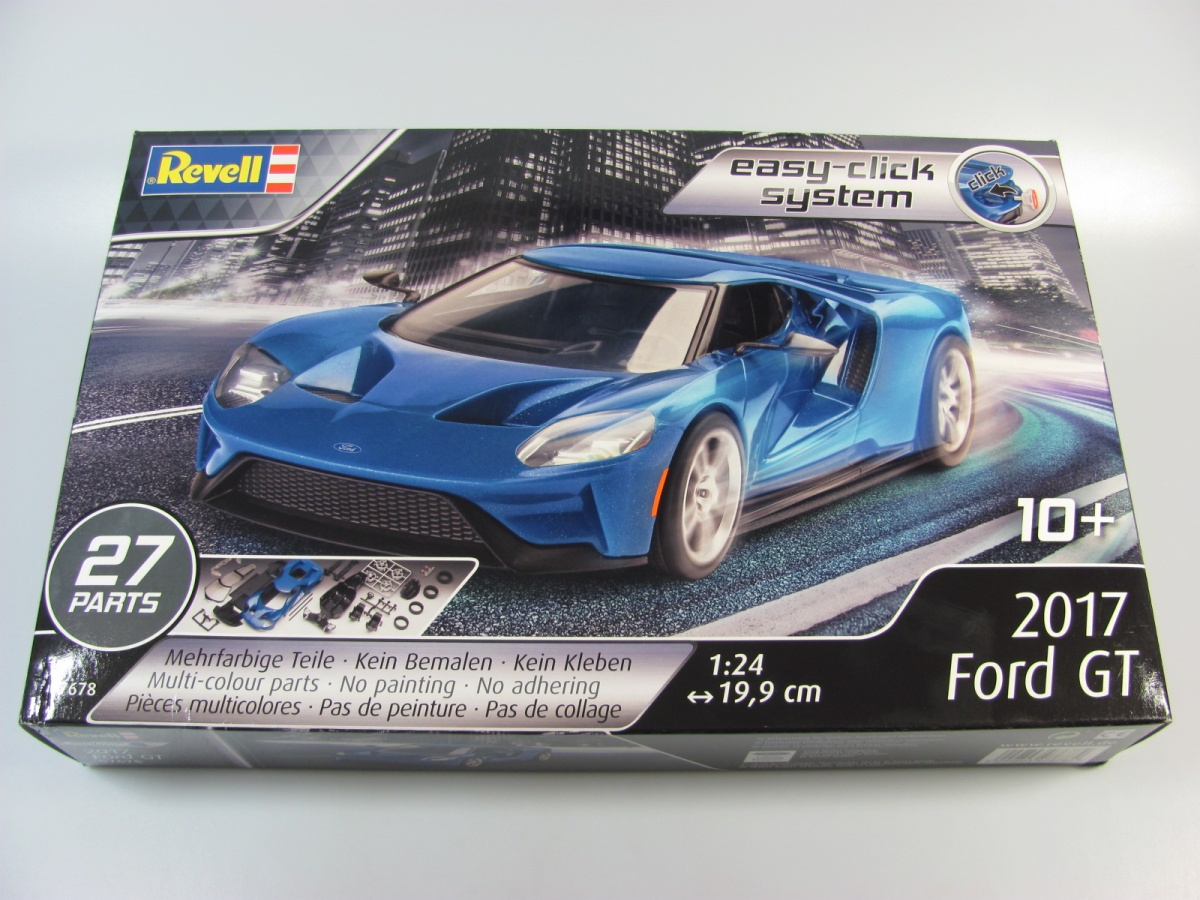 ford gt easy click revell car model. Black Bedroom Furniture Sets. Home Design Ideas