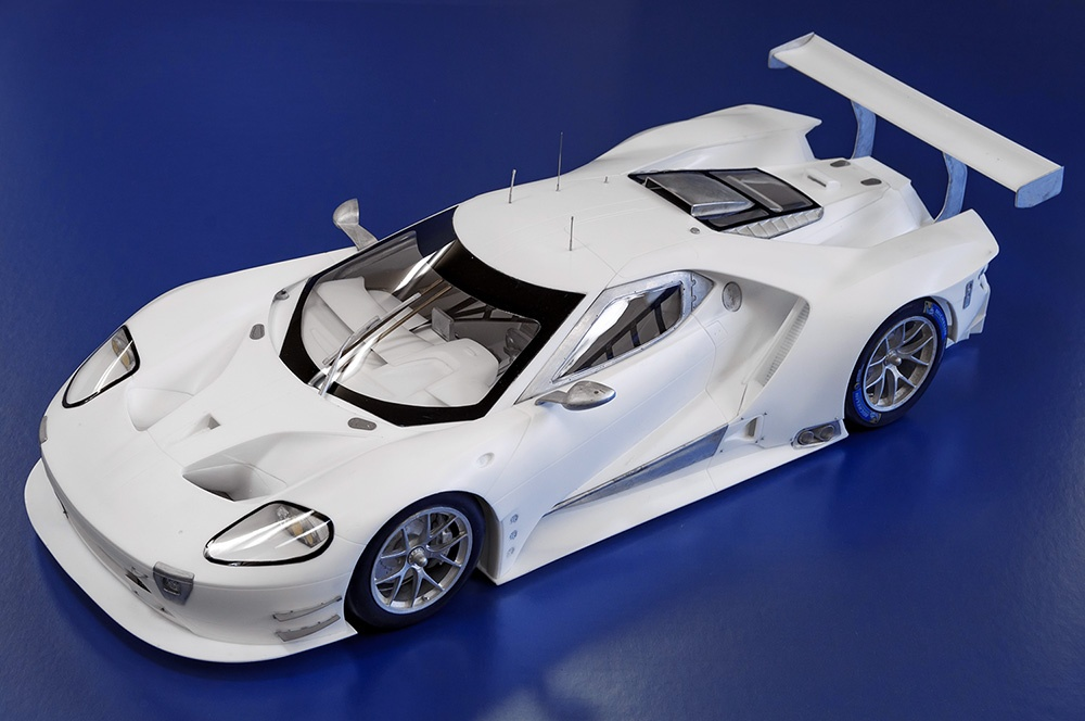 Ford GT GTE 2017 Proportion Kit 1/12 - Model Factory Hiro | Car-model-kit.com