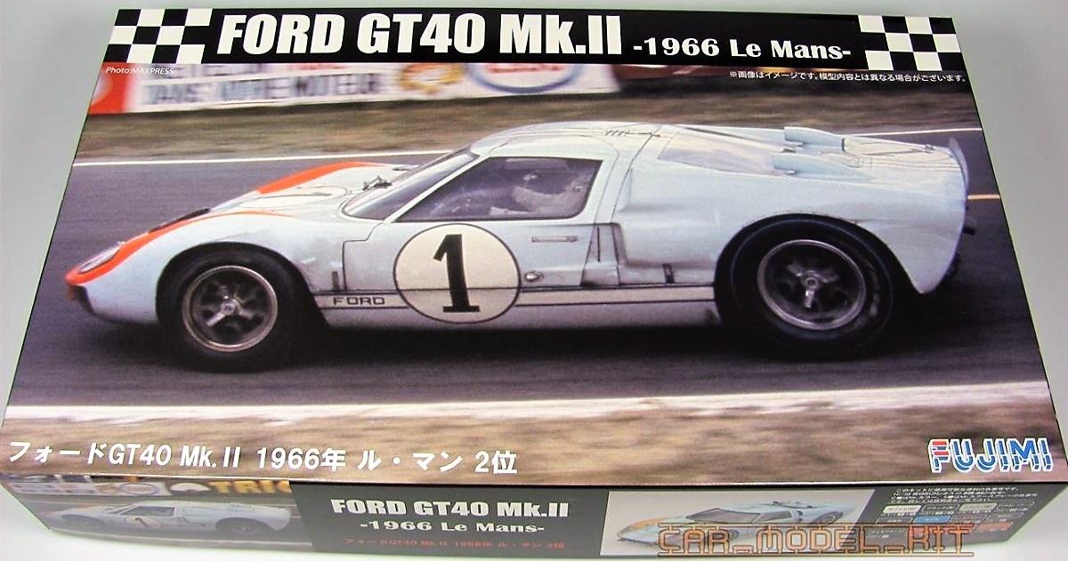 Ford Gt Mk Ii  Le Mans Fujimi