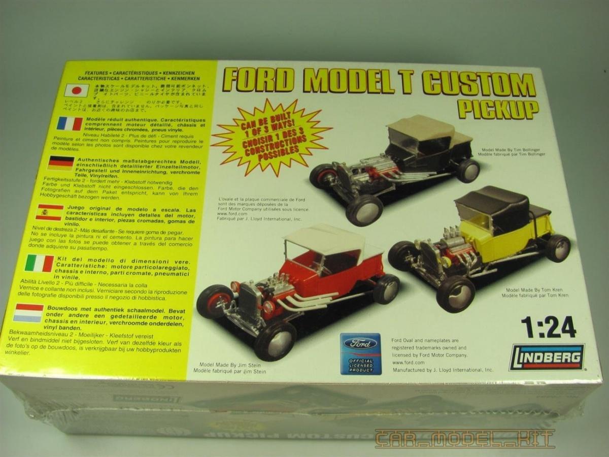 Ford model t custom pickup lindberg car model kit.com