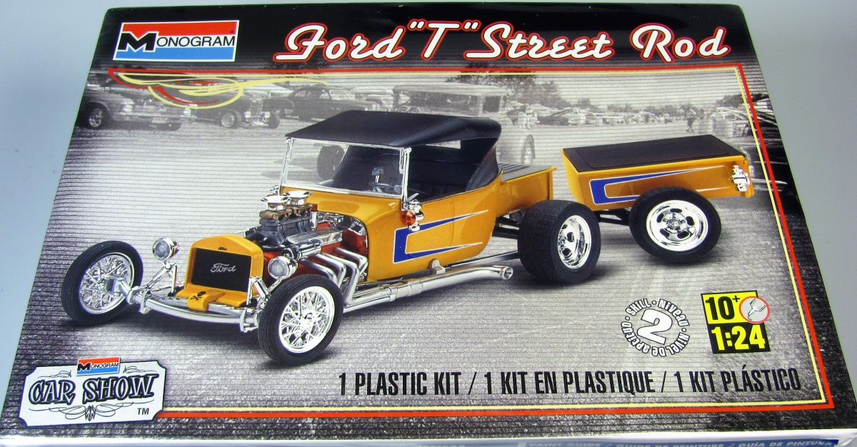 Ford T Street Rod - Monogram | Car-model-kit.com