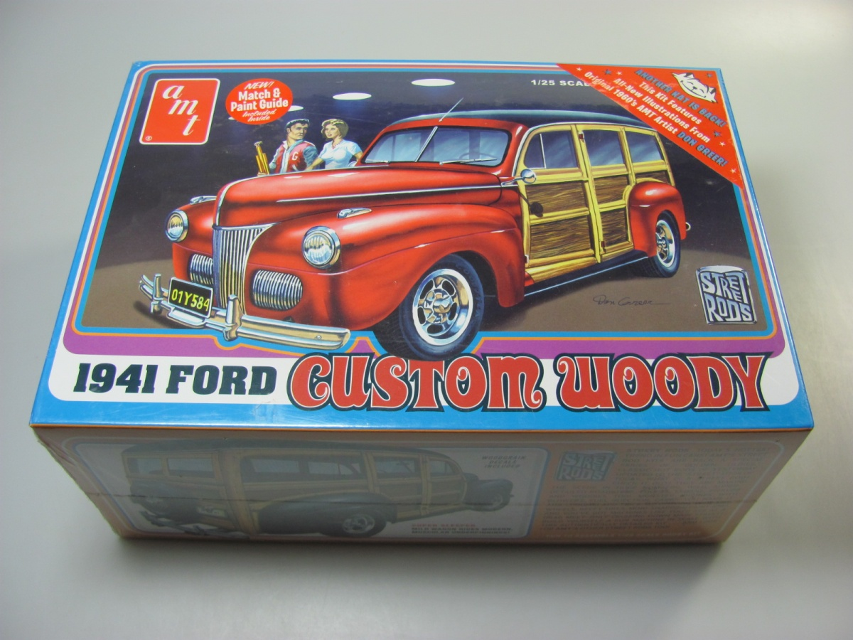 Ford Woody 1941 Amt Coupe Convertible