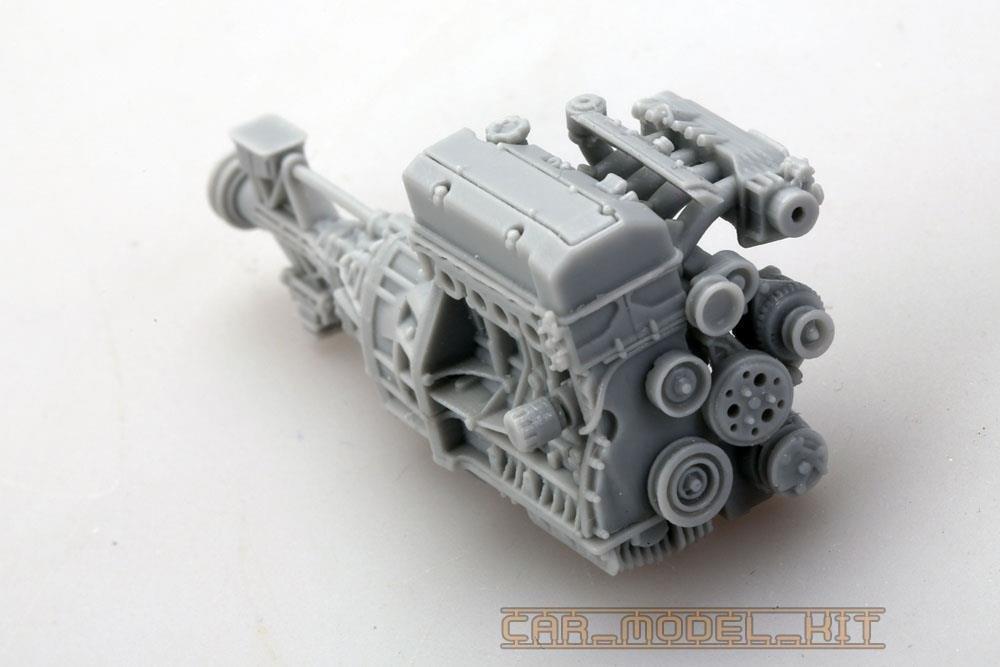 Honda Odyssey Colors >> Honda F20C Engine Detail Set - Hobby Design | Car-model-kit.com
