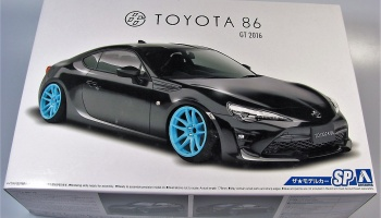 Toyota 86 GT2016   Aoshima