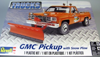 GMC Pickup with Snow Plow - Revell