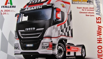 IVECO HI-WAY E5 ABARTH - Italeri