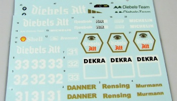 BMW M3 (E30) Diebels Alt #31/32/33 DTM '92 Decal for Beemax - Decalpool