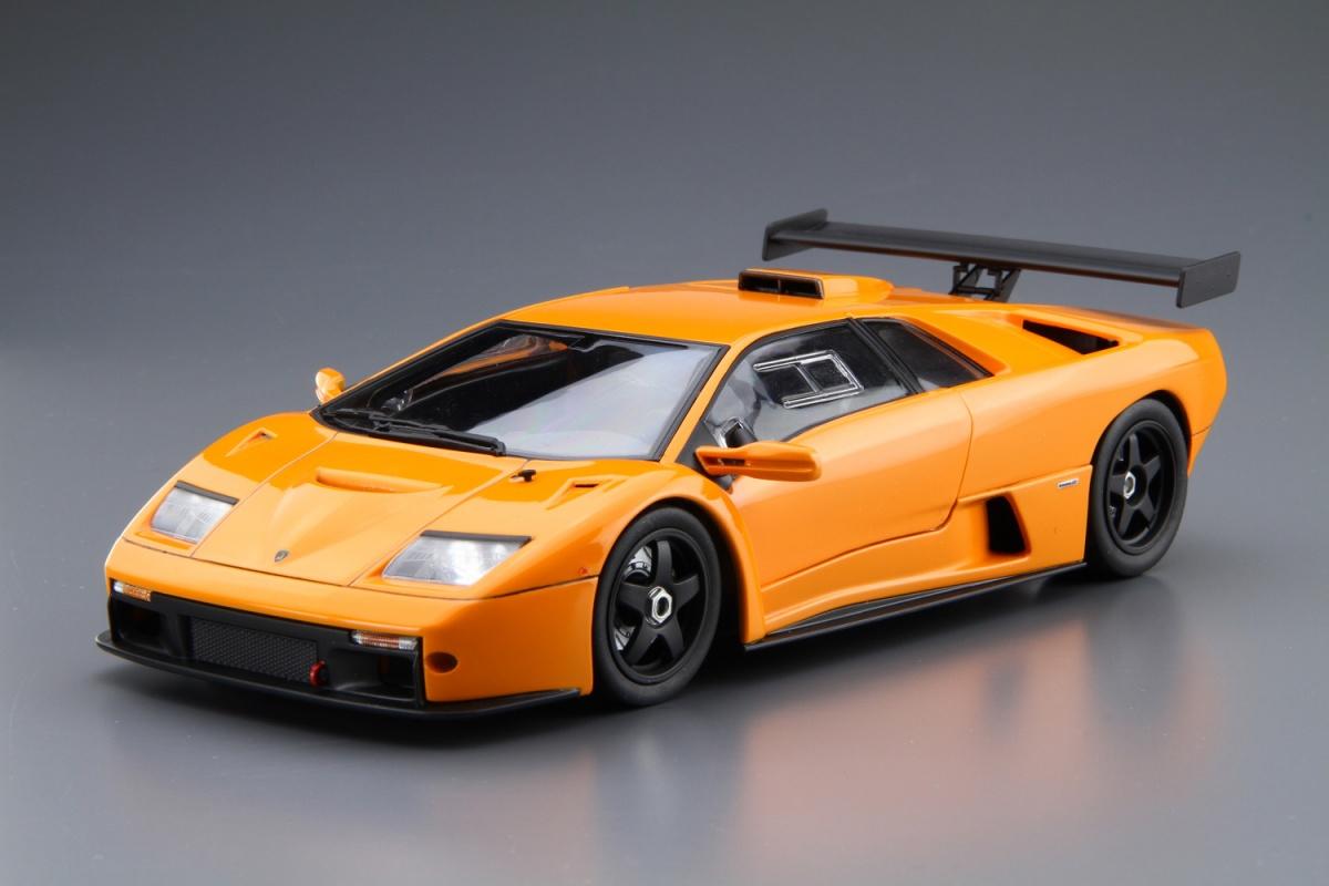 Beautiful Lamborghini Diablo GTR   Aoshima Lamborghini Diablo GTR   Aoshima