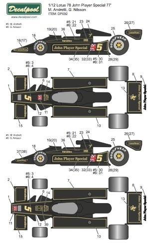 lotus john player special