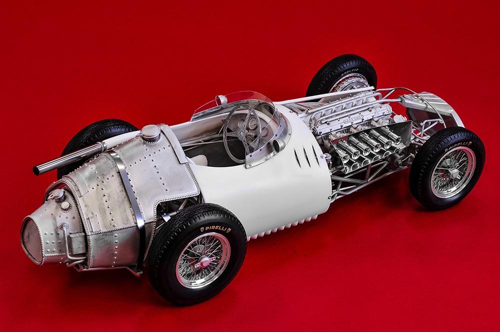 maserati 250f fulldetail kit - model factory hiro | car-model-kit