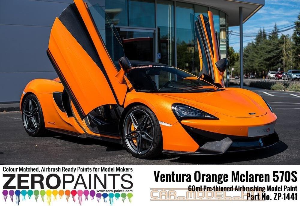 Mclaren 570S Ventura Orange (Pearl) Paint 60ml - Zero ...