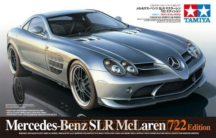 Mercedes Benz Slr Mclaren 722 Edition Tamiya Car Model Kit Com
