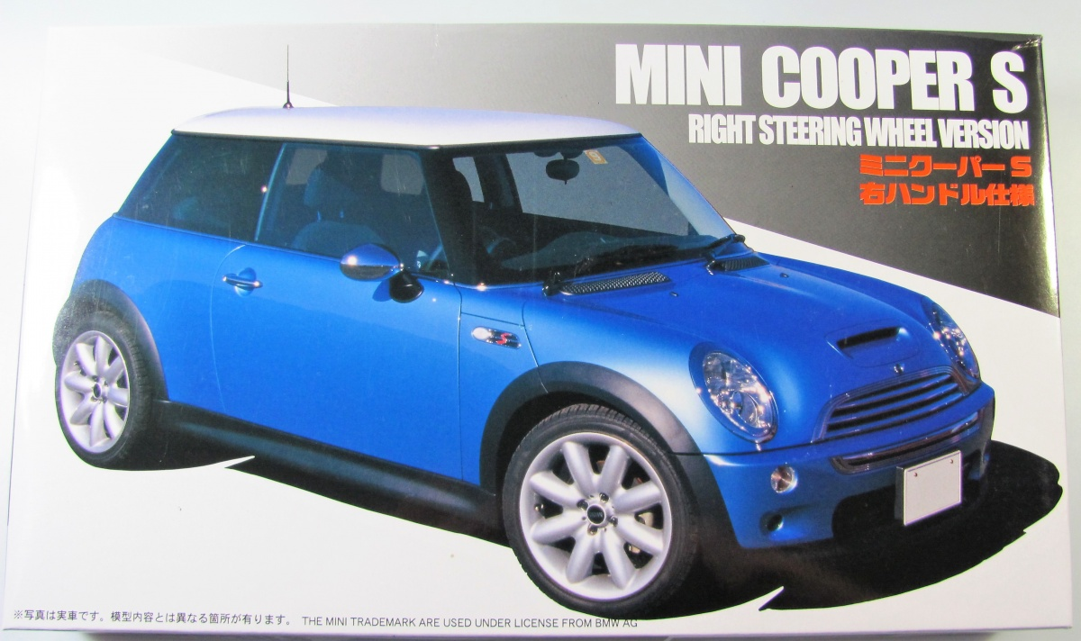 Mini Cooper S Fujimi Car Model Kit Com