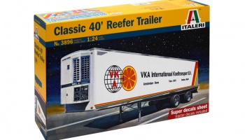 CLASSIC 40 Ft. REEFER TRAILER - Italeri