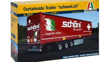 Curtainside Trailer - Italeri