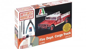 FIRE DEPARTMENT CARGO TRUCK (1:35) - Italeri