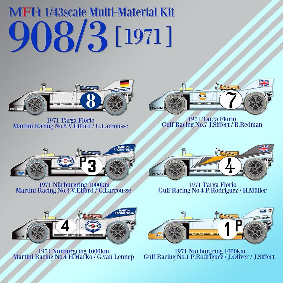 porsche 908 model factory hiro car model kit com