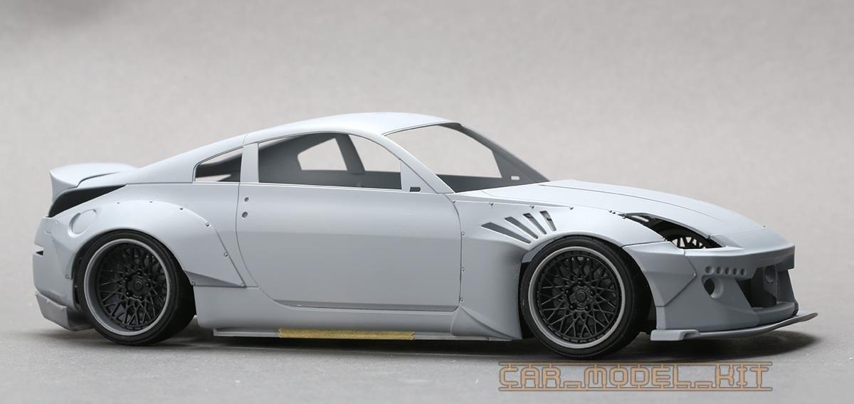 Rb Nissan Z Wide Body Kit For Z Plastic Models Hobby Design W H A Cd B F D