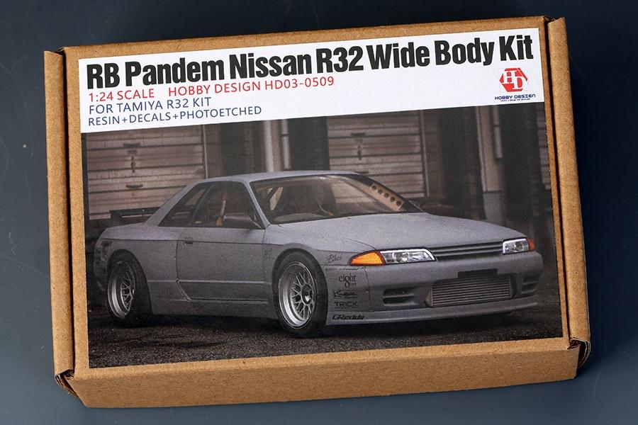 RB Pandem Nissan R32 Wide Body Kit For Tamiya R32 KIT - Hobby Design ...