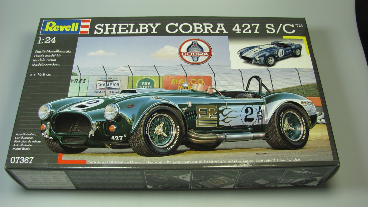 Shelby Ford Trucks >> Shelby Cobra 427 S/C - Revell | Car-model-kit.com