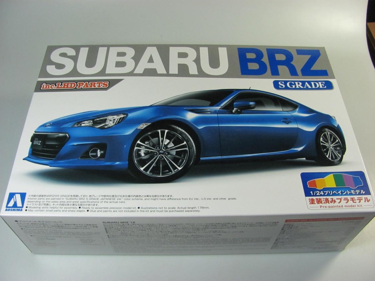 Subaru Brz Blue Mica Aoshima