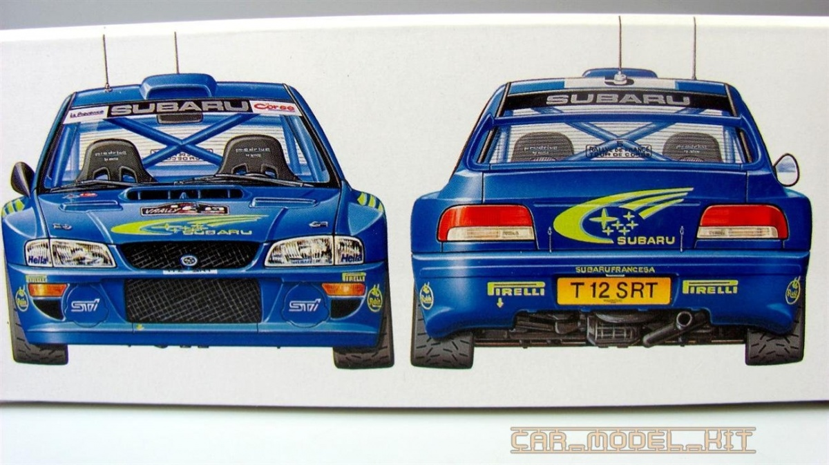 Subaru Impreza Wrc 99 Tamiya Car Model Kit Com