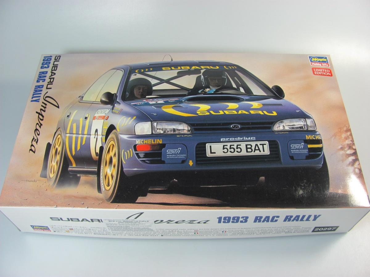 High Quality Subaru Impreza WRX 1993 Rally   Hasegawa