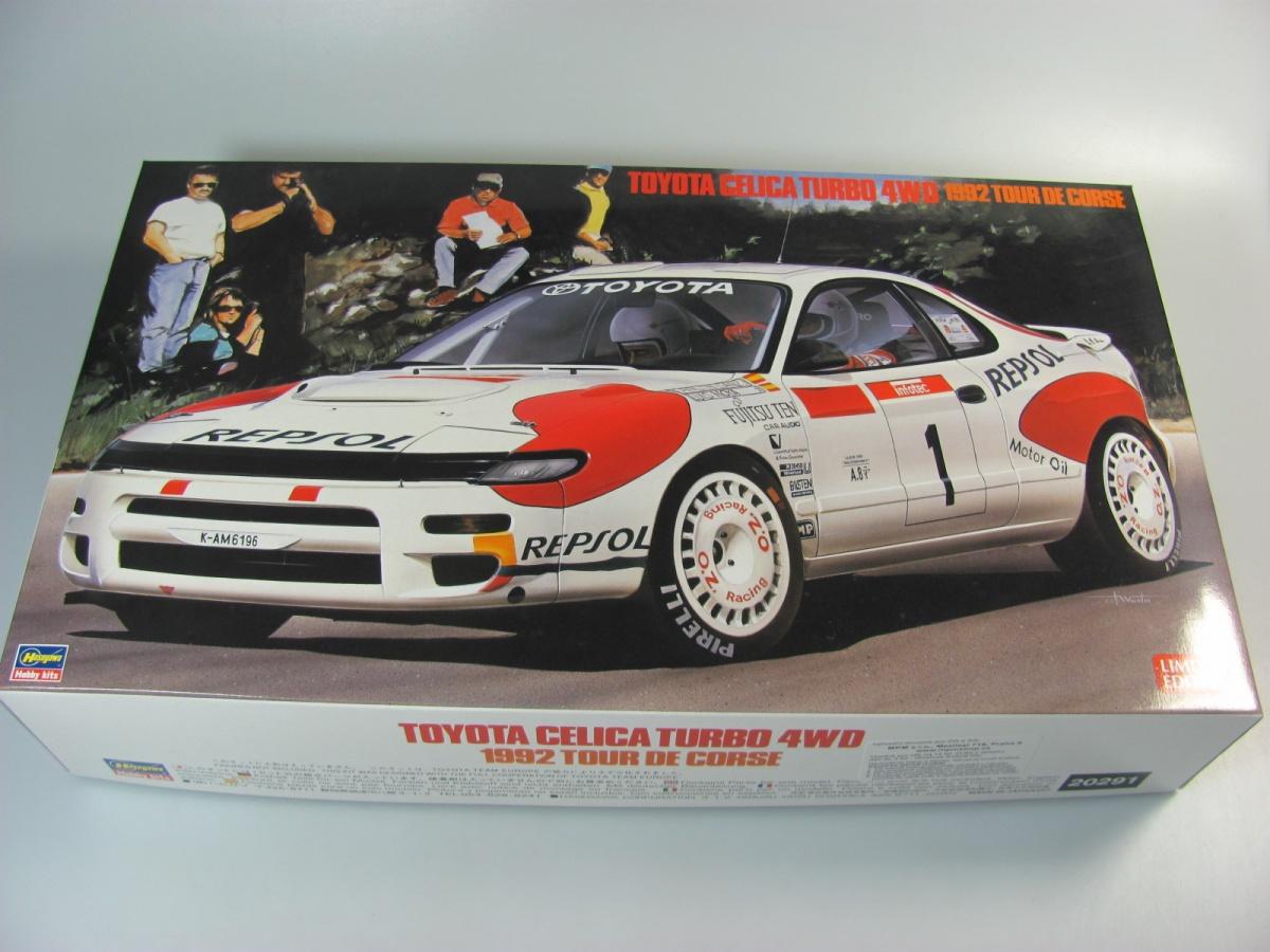Toyota Celica 4WD 1992 Tour De Corse   Hasegawa
