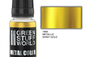 Metallic Paint SHINY GOLD - Green Stuff World