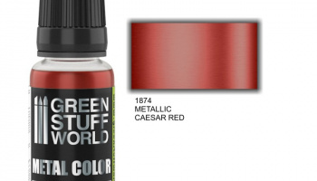 Metallic Paint CAESAR RED - Green Stuff World