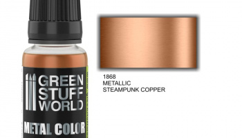 Metallic Paint STEAMPUNK COOPER - Green Stuff World