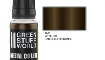 Metallic Paint DARK ELDER BRONZE - Green Stuff World