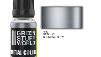 Metallic Paint GUNMETAL GREY - Green Stuff World