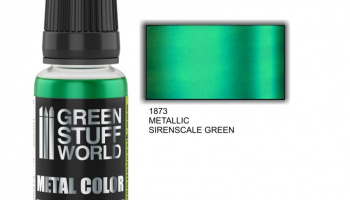 Metallic Paint SIRENSCALE GREEN - Green Stuff World