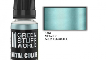 Metallic Paint AQUA TURQUOISE - Green Stuff World