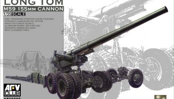 M59 155 mm Canon Long Tom 1:35 - AFV Club