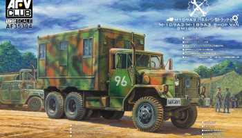 M-109A3/M-185A3 Shop Van (1:35) - AFV Club