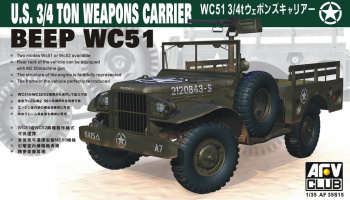 WC51 Weapon Carrier (1:35) - AFV Club